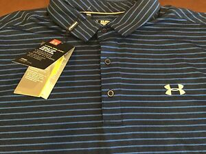 Under Armour Golf Coldblack men's loose fit polo shirt size 2XLNWTMSRP$69.99