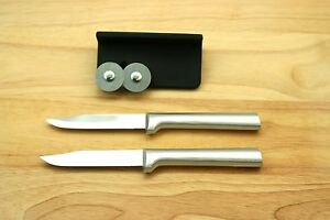 RADA (2) TWO R101 REGULAR PARING KNIFE BLD 3-1/4