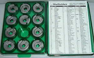 11 Piece Shell Holder Kit For Lee RCBS Hornady Lyman Redding S.S. Presses