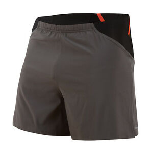 Pearl Izumi Men's Fly Endurance Short Running Liner Pockets 12111501 Shadow Grey