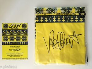 Valentino Rossi SIGNED AUTOGRAPH 4646 Limited Edition TShirt MotoGP Legend Rare
