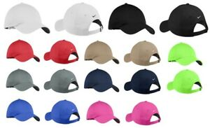 AUTHENTIC NIKE UNSTRUCTURED SWOOSH ON BACK CAPS LIGHTWEIGHT COOL GOLF DAD HATS $15.87