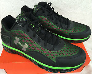 Under Armour Spine Bionic Low 1245059-004 Houston 2013 Basketball Shoes Men's 13