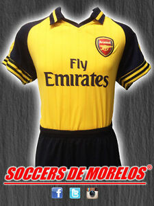 ARSENAL DRI-FIT SOCCER UNIFORMS (JERSEY SHORTS & SOCKS) PACKAGE WITH 15 SETS