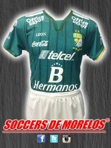 CLUB LEON DRI-FIT SOCCER UNIFORMS (JERSEY SHORTS & SOCKS) PACKAGE WITH 15 SETS