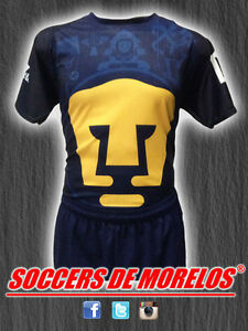 PUMAS DRI-FIT SOCCER UNIFORMS (JERSEY SHORTS & SOCKS) PACKAGE WITH 15 SETS
