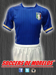 ITALY DRI-FIT SOCCER UNIFORMS (JERSEY SHORTS & SOCKS) PACKAGE WITH 15 SETS