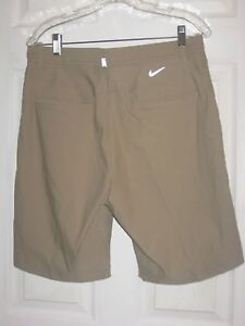 NIKE TIGER WOODS PRACTICE 2.0 DRI-FIT GOLF SHORTS 726226-235 SIZE 34 NWT