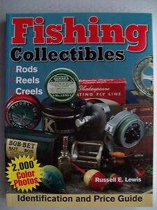 ANTIQUE FISHING REELS & RODS PRICE GUIDE COLLECTORS BOOK Bait Cast Spinning Fly