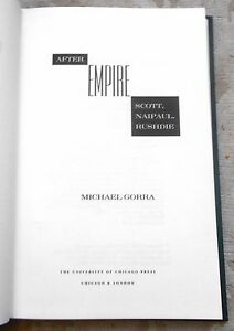 After Empire by Michael Gorra  1stEd  Signed  1997