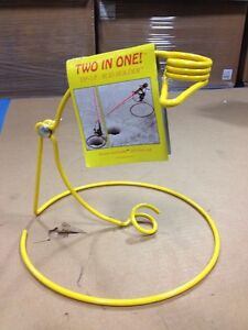 ICE FISHING TIP UP ROD HOLDER Two In One NEW