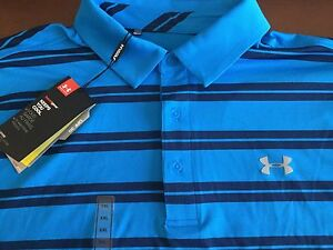 Under Armour Golf men's loose fit striped polo shirt size 2XLNWTMSRP$64.99