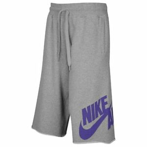 Nike Heritage Pick Up Game Shorts Heather Grey Men's Small Medium BNWT!