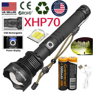 Tactical 200000Lumens 5 Mode 14 X T6 Flashlight LED Torch Super Bright for 18650