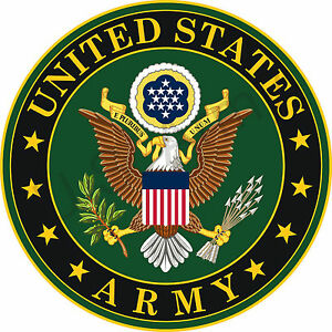 U.S. Army Seal #2 Wall Window Vinyl Decal Sticker Military
