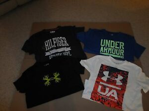 Lot Boy's Youth XL  T-Shirts - Under Armour Old navy Tommy Hil