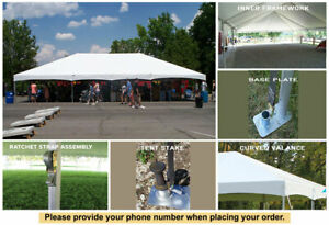 40' x 40' Master Series Frame Tent Sectional Wedding Tent Outdoor Party Marquee