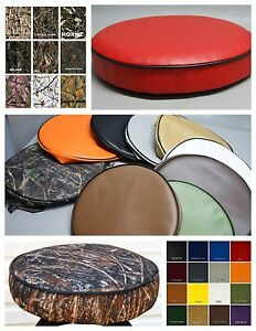 Bar Stool Cover vinyl or camo pub / kitchen / snack in 25 colors 2