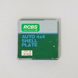 RCBS Auto 4x4 Shell Plate Assembly No: 3 87603 (#186)
