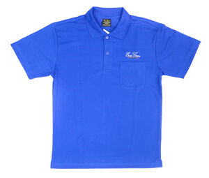 Evergreen Polo Shirt Dry Fit Short Sleeve Evergreen Type A Size XXL Blue (5787)