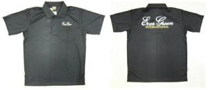 Evergreen Polo Shirt Dry Fit Short Sleeve Evergreen Type A Size XL Black (1896)