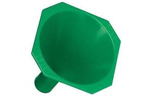 RCBS 9086 Powder Funnel Green Plastic wNonstick Surface for 17-20 Caliber Cases
