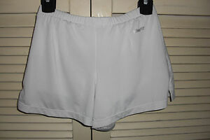 NIKE SHORTS Athletic Tennis Attached Boy Short White Youth Size S 78 Fit Dry