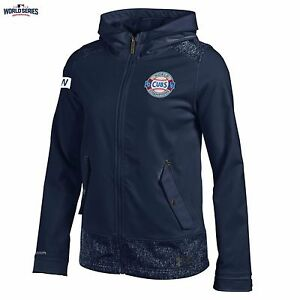 Chicago Cubs 2016 World Series Champions Under Armour W Flag Parade Jacket NWT S