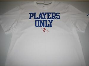 "Nike Ken Griffey Jr. Swingman ""Players Only"" Dri-Fit T-Shirt White Men's 2XL"
