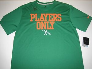 "Nike Ken Griffey Jr. Swingman ""Players Only"" Dri-Fit T-Shirt Pine Green Mens 2XL"