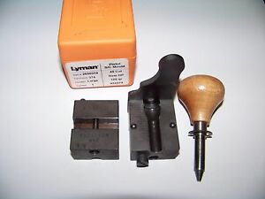 Lyman 1 Cavity Bullet Mould 45 Cal HP * 2650374