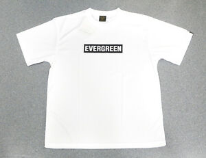 Evergreen T-Shirt Dry Fit Short Sleeve D-Type Size XXL White (5657)