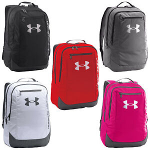 Under Armour Hustle LDWR Storm Backpack - New UA School Laptop Gym Bag 2017