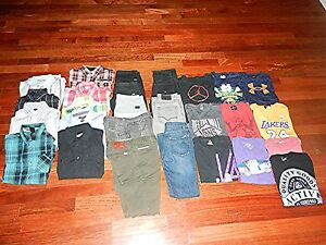 Boy's Clothing Lot XL 2816 Nike Under Armour Polo Guess Levi's Quiksilver Van's