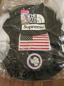 Supreme x The North Face Trans Antarctica Expedition Big Haul Backpack Black NWT