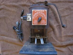 Vintage Lyman 61 Lead Furnace Bottom Pour Cast Bullets Fishing Weights