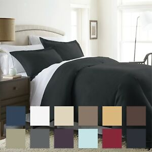 3 Piece Premium Duvet Cover Set Premium Ultra Soft by The Home Collection $24.99