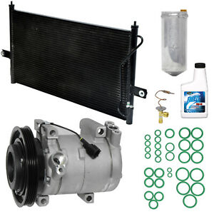 New AC Compressor Kit w Condenser 1050479 -   For Xterra Frontier