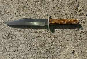 Very old Antique Bowie hunter knife. Warranted 3T Cutlery.E K Tryon Co. Phila P