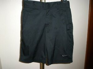 NIKE GOLF DRI-FIT JUNIOR BOY'S TECH GOLF SHORTS BLACK SIZE SMALL