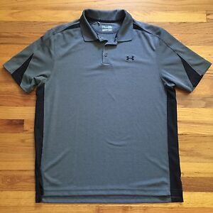 Under Armour Heat Gear Loose Shirt Men's XL Gray
