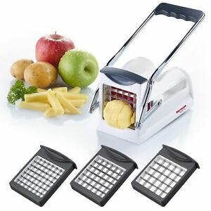 Westmark Germany Multipurpose French Fry Cutter With 3 Stainless Steel Blades $26.98
