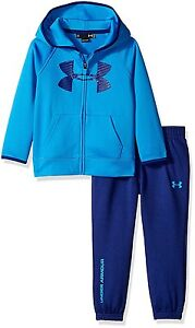 Under Armour Toddler Boys Active Hoodie and Pant Set Brilliant Blue 2T