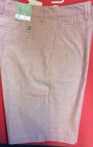 Mens Linksoul by John Ashworth  Shorts In Brick Size 34
