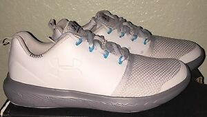 Boys Under Armour Charged 247 Low Shoes Youth size 6 NIB Gray