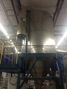 Bowen style spray dryer 72