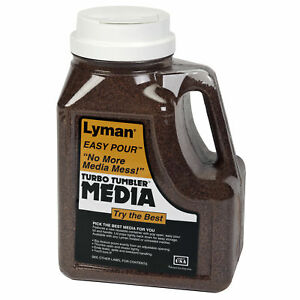 Lyman Turbo Tufnut Cleaning Media 7 Pounds Easy Pour Container