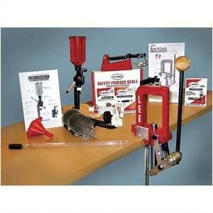 Lee Precision 50th Anniversary Breech Lock Challenger Single Stage Press Kit Red