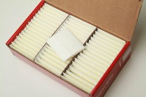 Carmel Super Glide Tailors#x27; Chalk White Color 48 pcs Fast Shipping from US $21.95