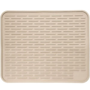 LISH 24quot; x 18quot; XXL Silicone Dish Drying Heat Resistant Drainer Board Mat